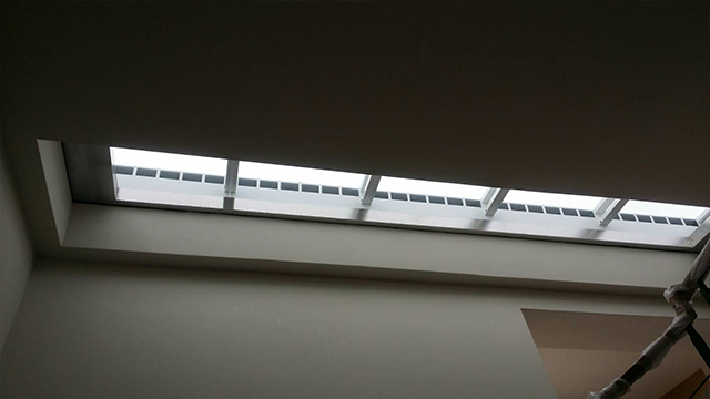 採光通風天窗應用於水泥屋頂
