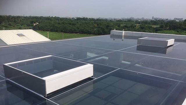 採光通風天窗應用於屋頂採光罩