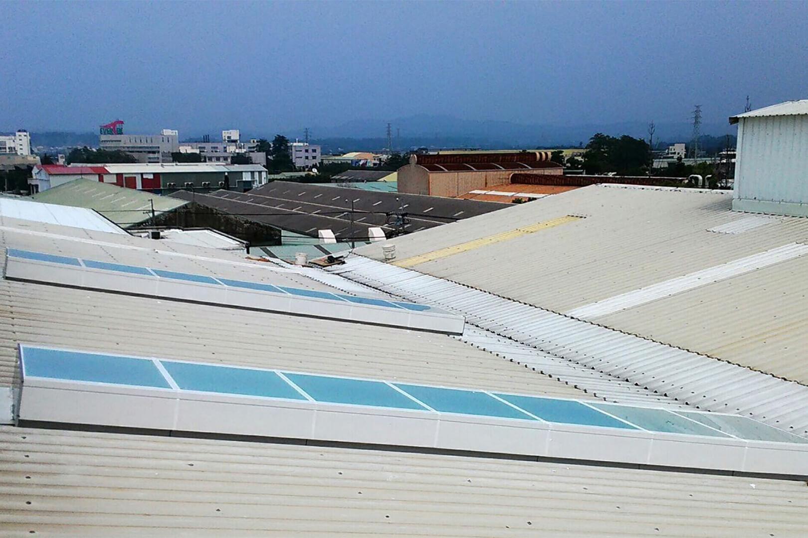 台南 石頭造紙廠-鐵皮廠房