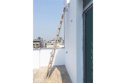 台南 巴克建設 透天建案-戶外屋突