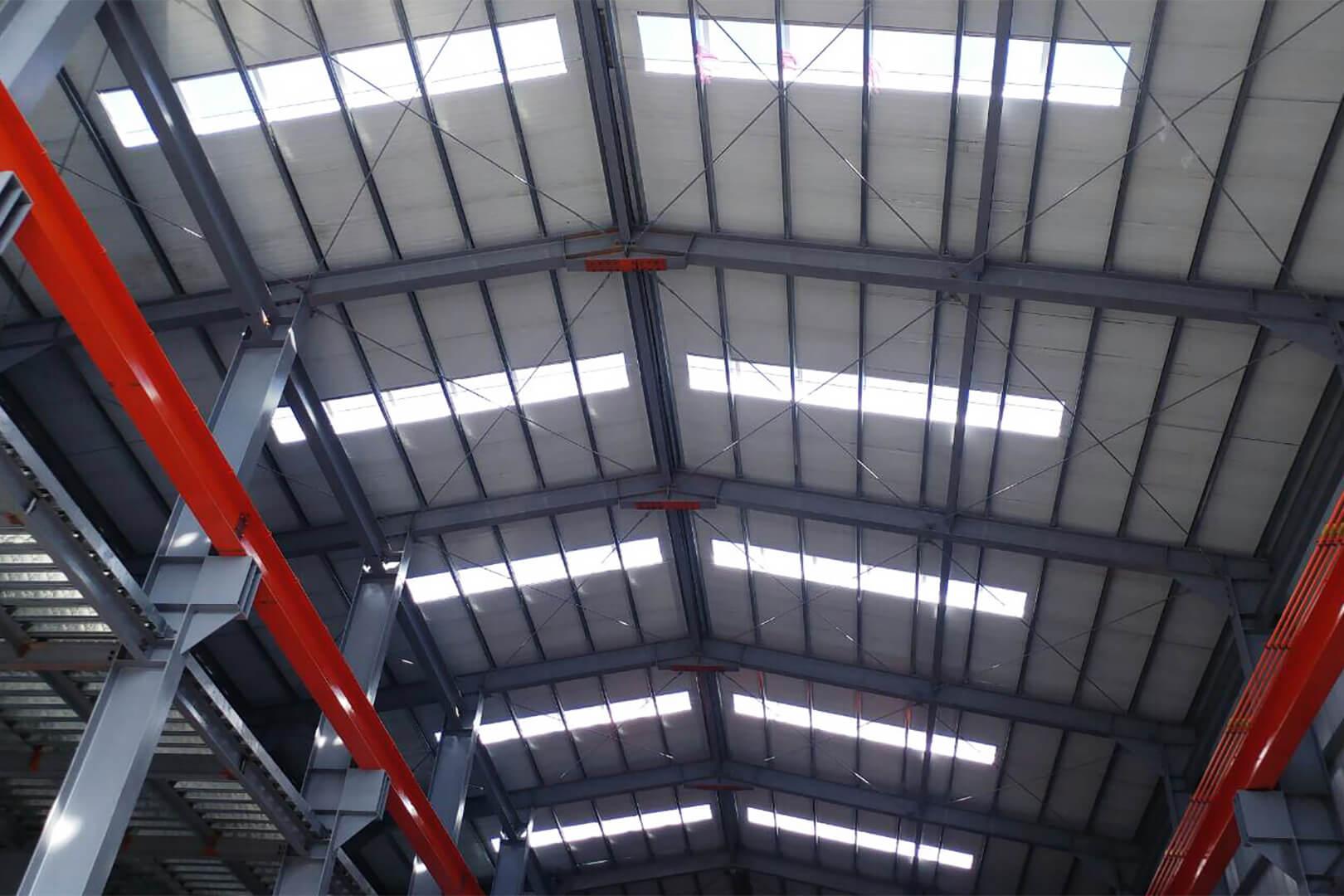 台中 精密機械廠-鐵皮廠房