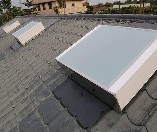 台南 陳先生平房住宅-琉璃鋼瓦屋頂