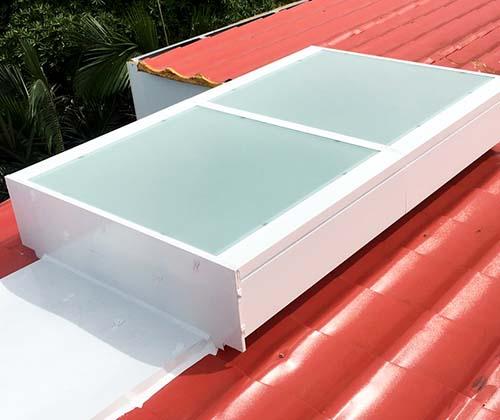 桃園 徐先生透天住宅-琉璃鋼瓦屋頂